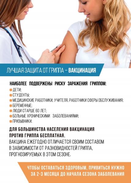 Памятка - прививка от гриппа 2