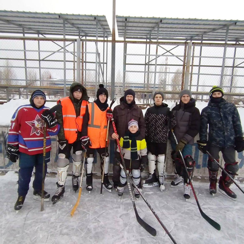 Хоккейные встречи