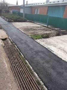 Ремонт тротуара в с.Павловка