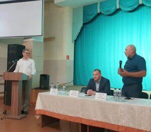 Встреча кандидата в депутаты с жителями муниципального образования Подгородне-Покровский сельсовет.